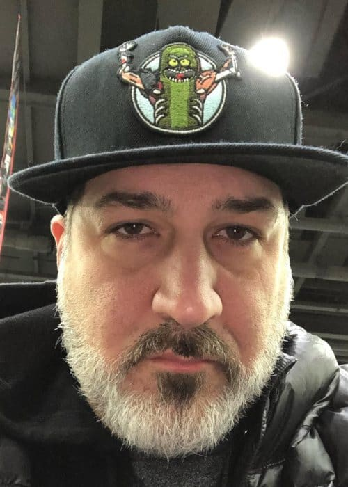 Joey Fatone in an Instagram selfie as seen in March 2019