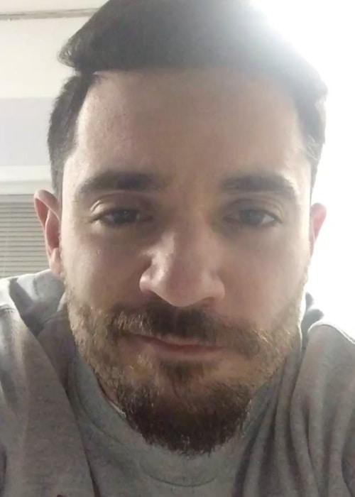 Jon Bellion in an Instagram selfie as seen in March 2018