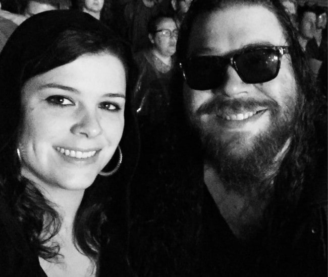 Josh Krajcik and Megan Keating in a selfie in September 2017