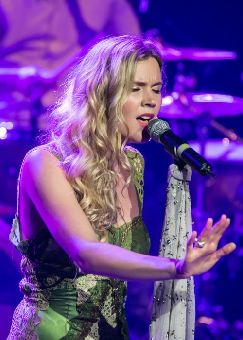 Joss Stone as seen in a picture performing at a concert in Managua, Nicaragua in January 2016