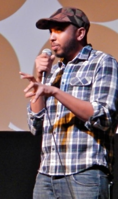 Justin Simien at the Sundance Film Festival as seen in January 2014