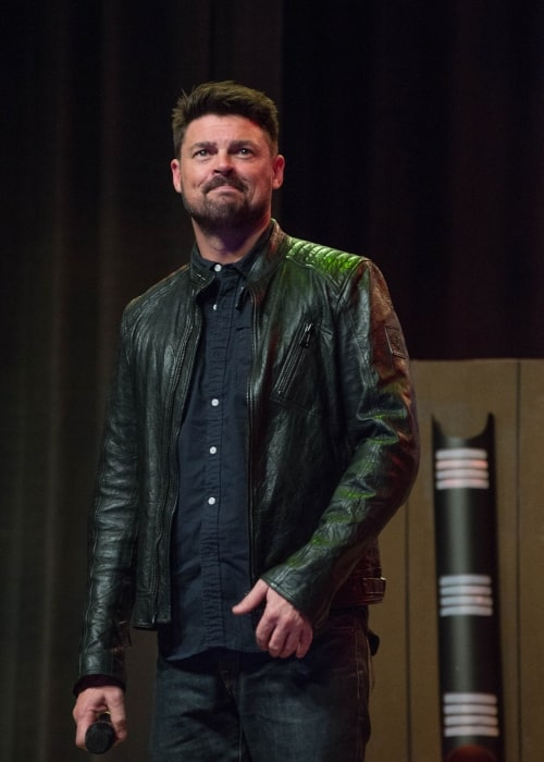 Karl Urban as seen in a picture taken in May 2016