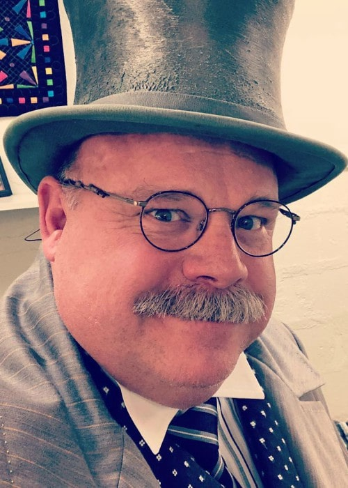 Kevin Chamberlin in an Instagram selfie as seen in October 2018