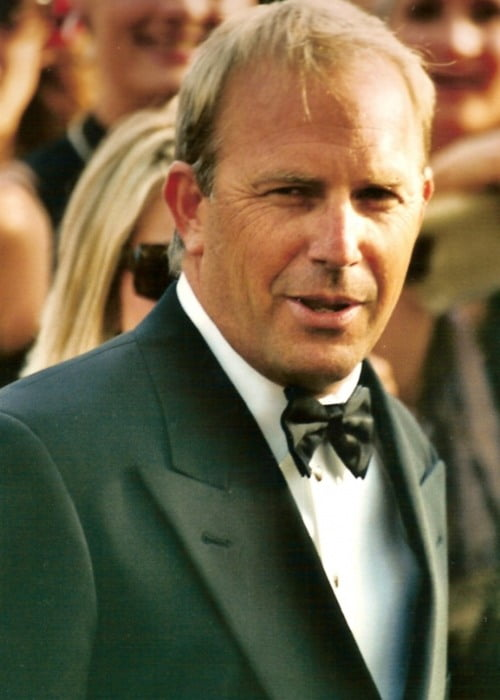 Kevin Costner at the Cannes Film Festival in 2003