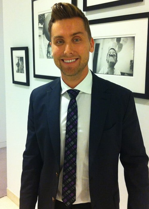 Lance Bass as seen in September 2013