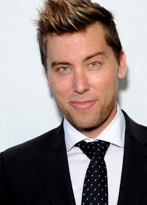 Lance Bass during an event in March 2014