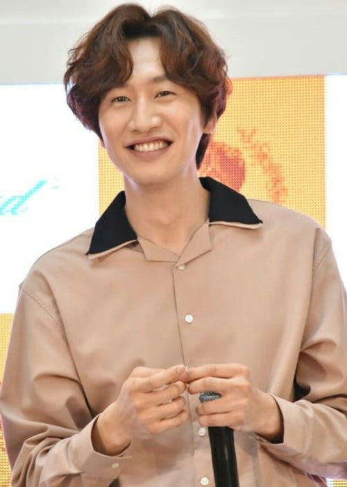 Lee Kwang-soo at Guerisson event as seen in April 2017