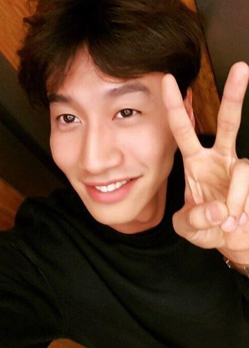 Lee Kwang-soo in an Instagram selfie as seen in September 2015