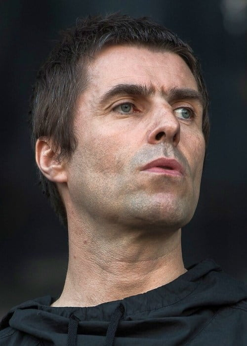 Liam Gallagher during a performance in June 2017