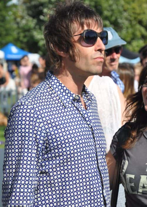 Liam Gallagher during the PupAid campaign in September 2012