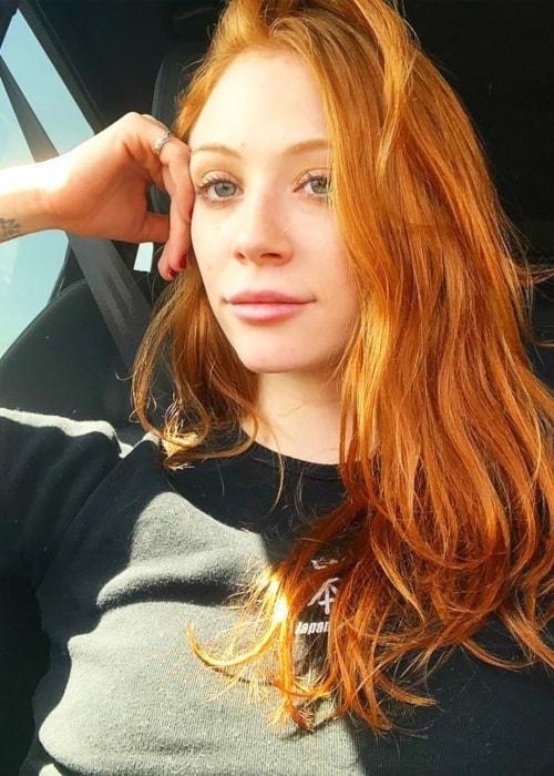 Liliana Mumy as seen in a selfie taken in Palm Springs, California in March 2019