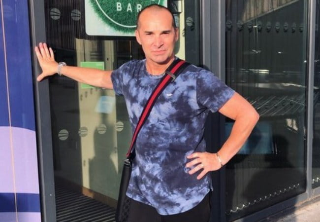 Louie Spence in an Instagram post as seen in May 2019