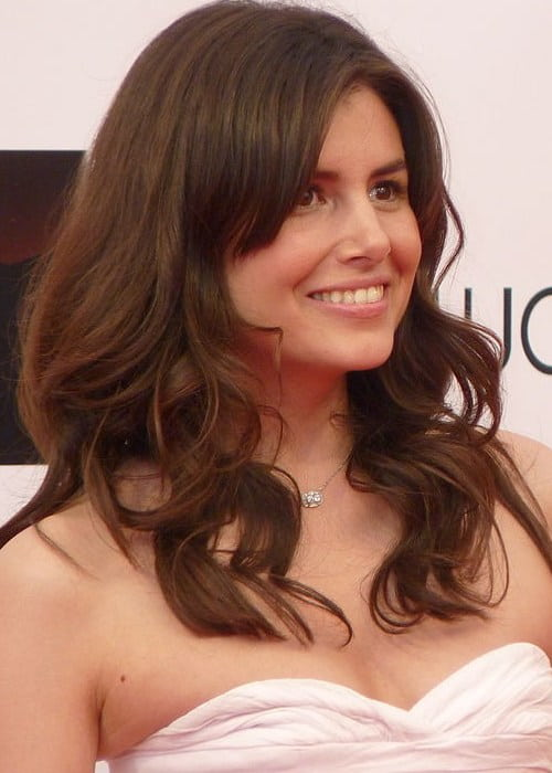 Louise Monot at the 2012 Monte-Carlo Television Festival