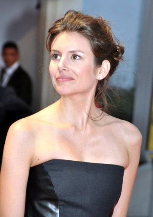 Louise Monot at the Deauville American Film Festival in 2009