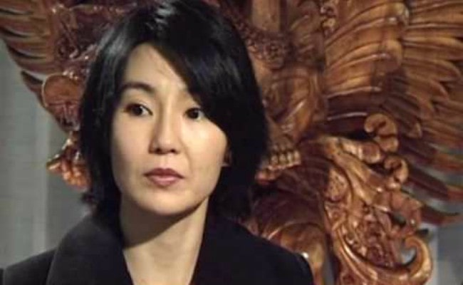 Maggie Cheung during an interview as seen in January 2010