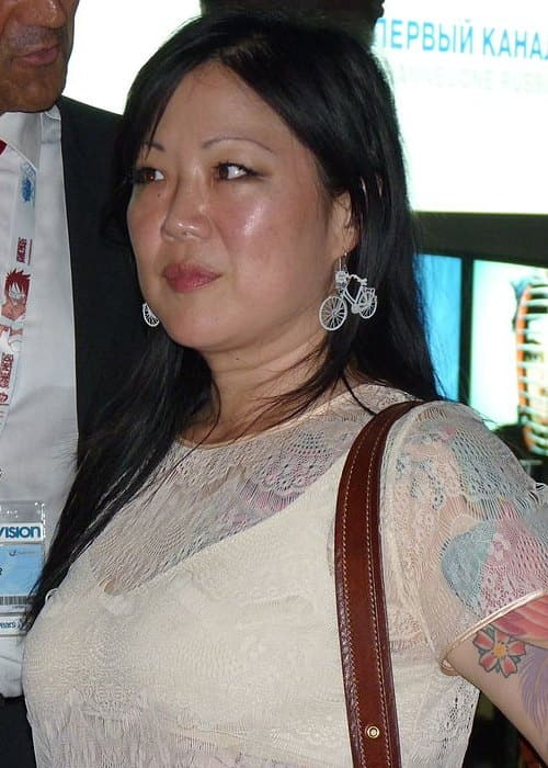 Margaret Cho at the 2011 MIPCOM