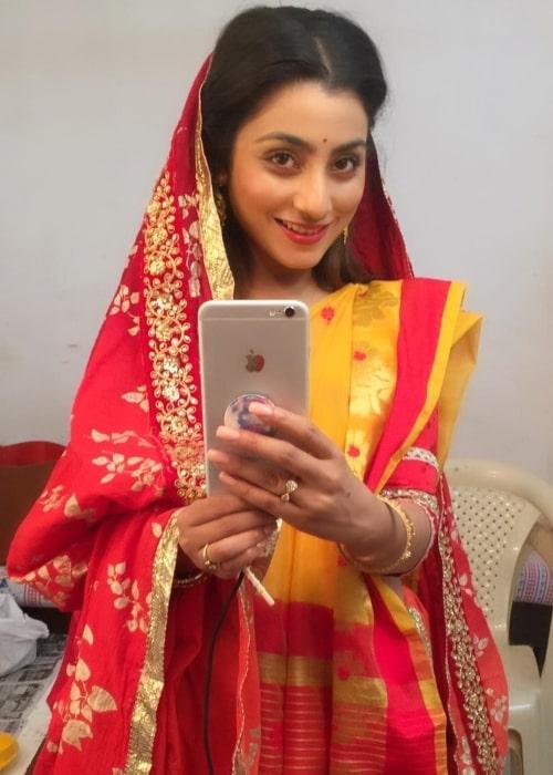 Neha Marda as seen in a selfie taken in April 2018