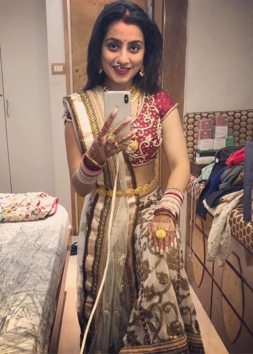 Neha Marda as seen in a selfie taken in October 2018