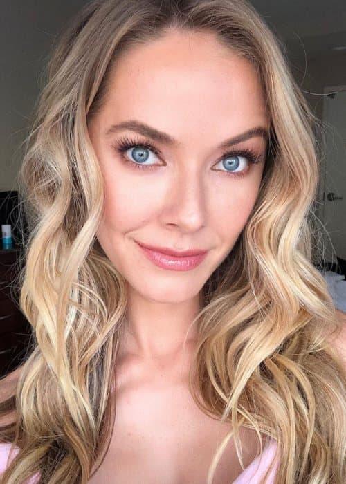 Olivia Jordan in an Instagram selfie as seen in May 2019