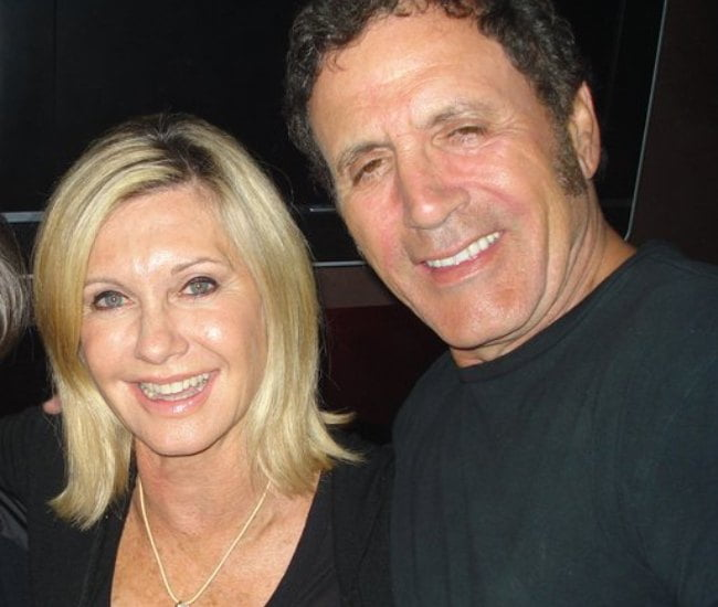 Olivia Newton-John and Frank Stallone in May 2012