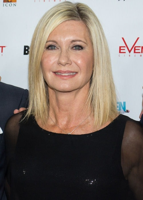 Olivia Newton-John at the Premiere of 'A Few Best Men' in January 2012