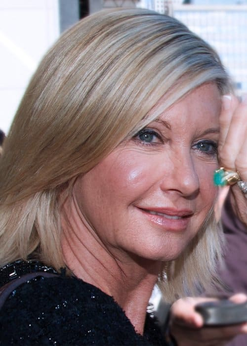 Olivia Newton-John at the Toronto International Film Festival as seen in December 2010
