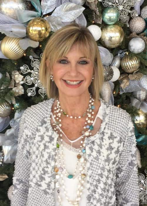 Olivia Newton-John in an Instagram post in December 2017