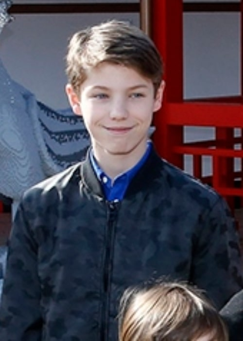 Prince Felix of Denmark photographed while attending the opening of the area Ninjago World in the amusement park Legoland Billund Resort in Denmark in March 2016