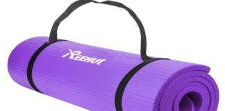REEHUT 1/2-Inch Extra Thick Exercise Mat Review