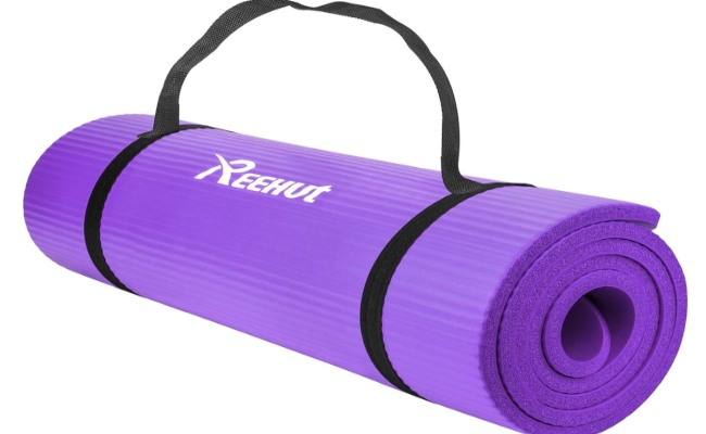 REEHUT .5-Inch Extra Thick Exercise Mat Review