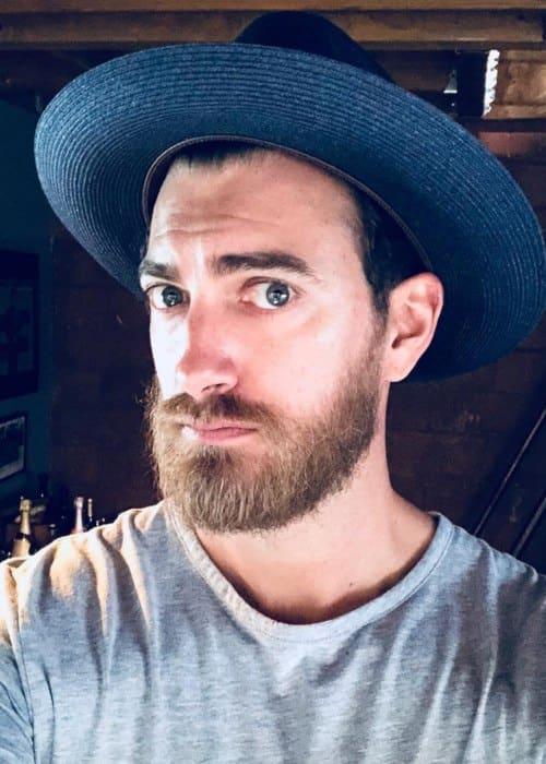 Rhett James McLaughlin in an Instagram selfie as seen in July 2018