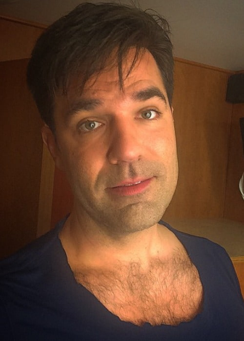 Rob Delaney in an Instagram selfie as seen in November 2014