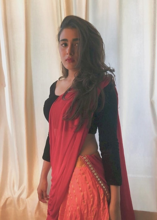 Shalini Pandey as seen in a picture taken in March 2019