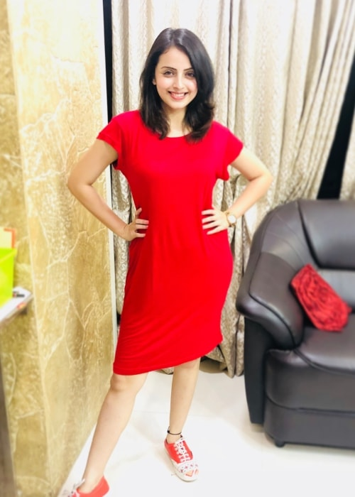 Shrenu Parikh as seen in a picture taken in August 2018