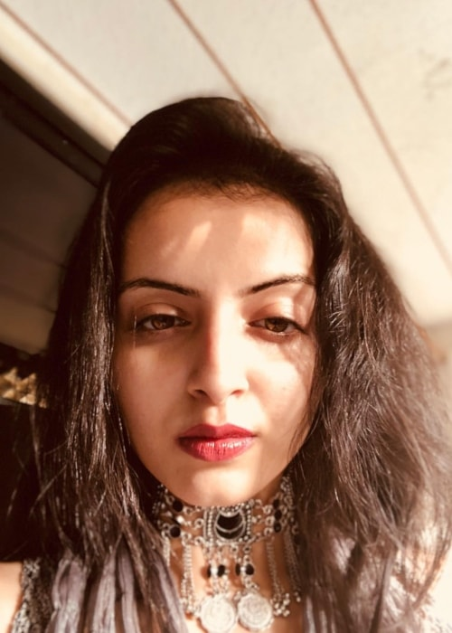 Shrenu Parikh as seen in a selfie taken in April 2018