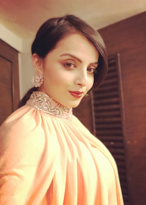 Shrenu Parikh as seen in a selfie taken in September 2018