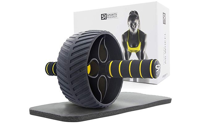 Sports Research Sweet Sweat Ab Wheel