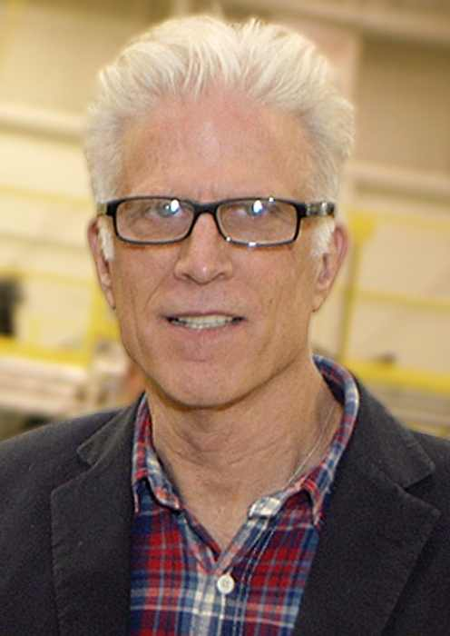 Ted Danson attending a meet-and-greet at the Bryant Army Airfield in 2010