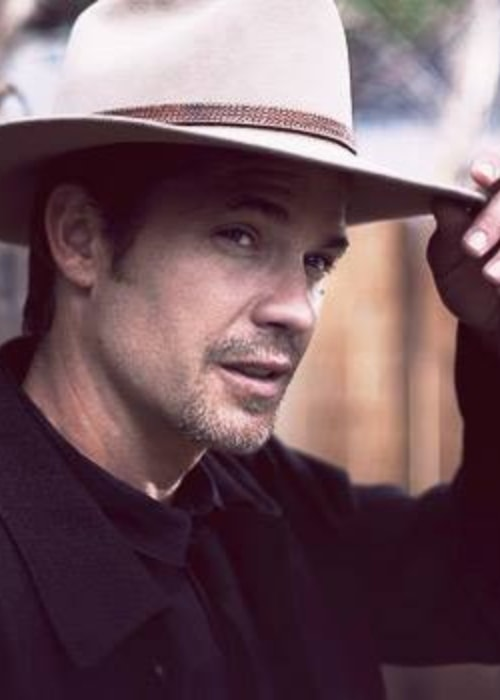 Timothy Olyphant as seen in a picture uploaded to his official Facebook account in April 2014