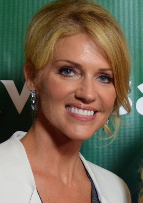 Tricia Helfer at NBCUniversal's 2014 Summer TCA Tour