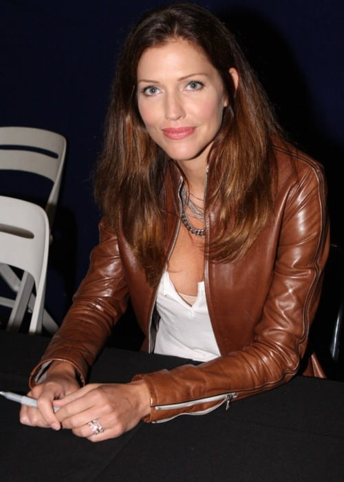 Tricia Helfer at the Supernova Pop Culture Expo in June 2012