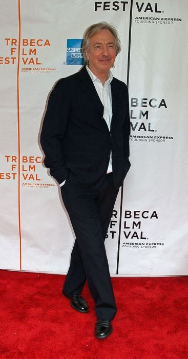Alan Rickman at the 2007 Tribeca Film Festival