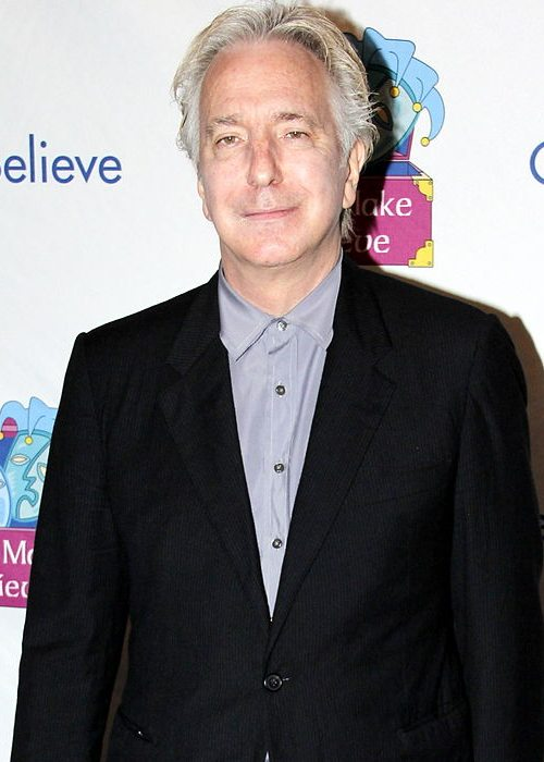 Alan Rickman during an event in November 2011
