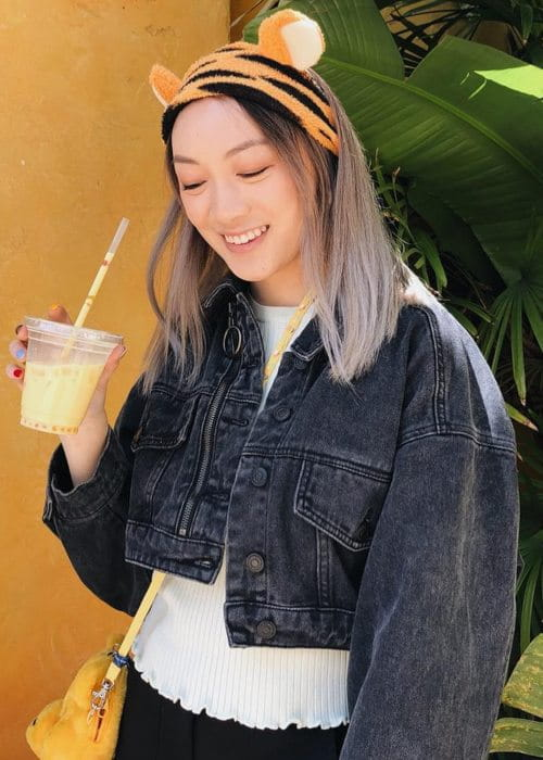 Amanda Lee in an Instagram post as seen in April 2019