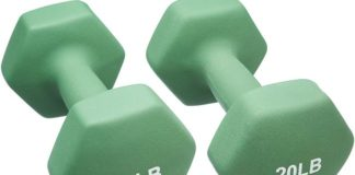AmazonBasics Neoprene Dumbbell Pairs Review