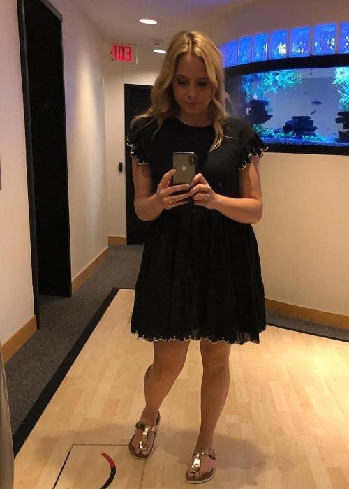 Andrea Libman as seen in a selfie taken in August 2018