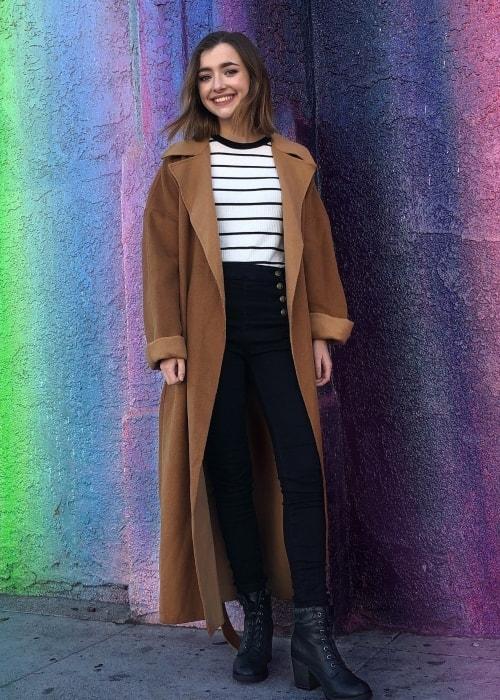 Ashley Boettcher as seen in a picture taken in February 2019