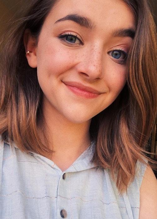 Ashley Boettcher as seen in a selfie taken in May 2019