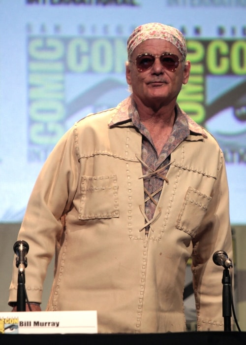 Bill Murray as seen at the 2015 San Diego Comic-Con International, for 'Rock the Kasbah', at the San Diego Convention Center in San Diego, California, United States
