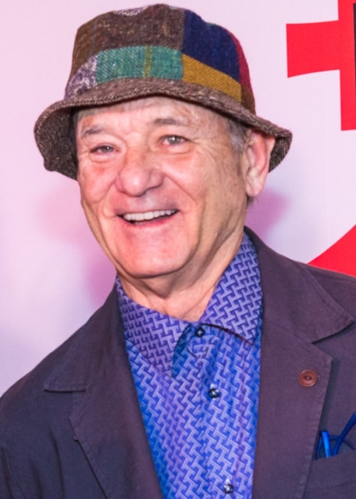 Bill Murray as seen while attending the screening of Wes Anderson's 'Isle of Dogs' at the Metropolitan Museum of Art in New York City, New York on March 20, 2018
